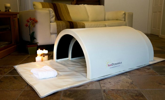 Portable Far Infrared Sauna Dome