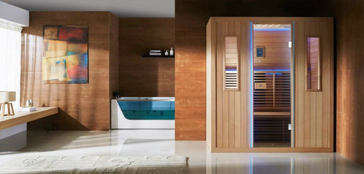 Reasons to get a home infrared sauna for Make your own sauna at home