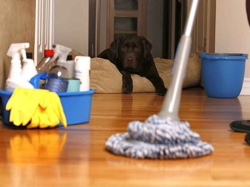 cleaning hard