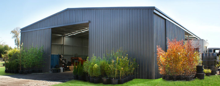 large shed