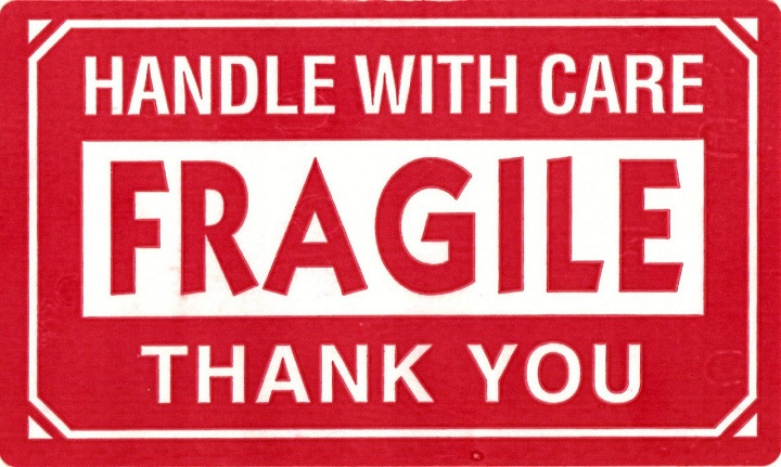 fragile glass