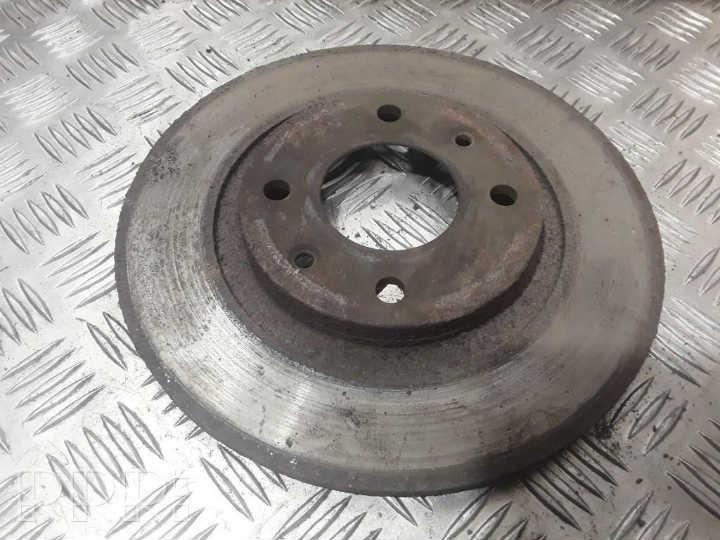 damage brake rotor