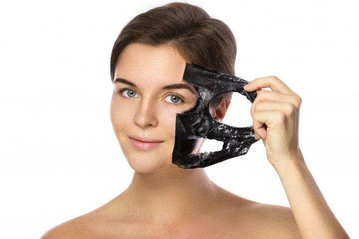 Charcaol-mask beauty