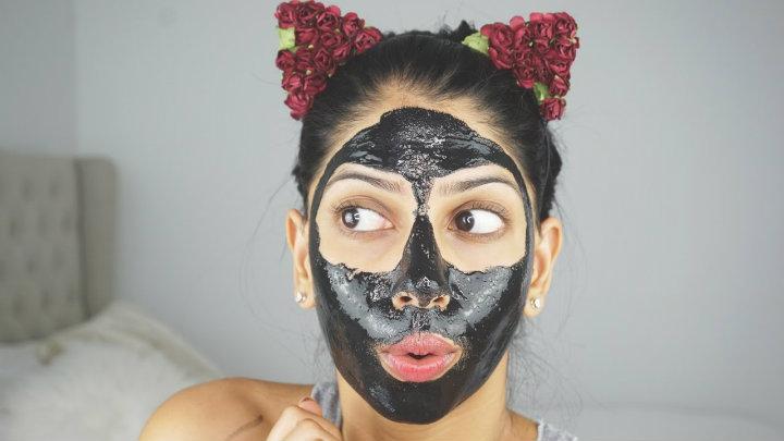 charcoal mask peel