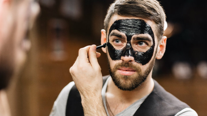 the power of charcoal mask