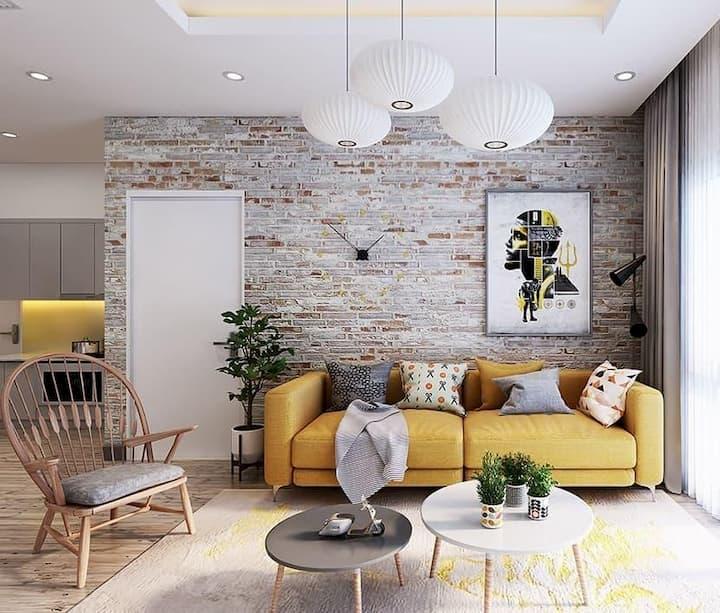 accent wall modern