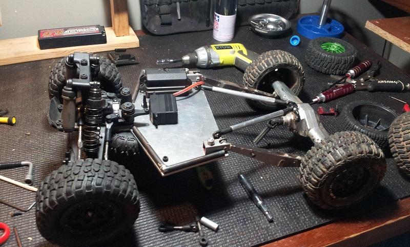 Maintenance RC car