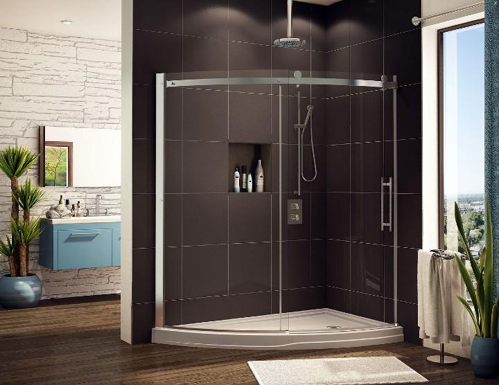 modern shower base