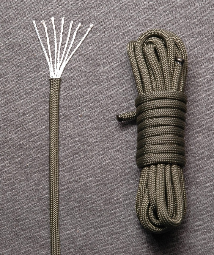 Type III paracord (550 paracord)