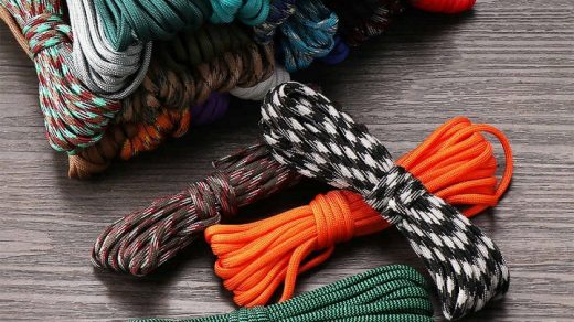 Paracord rope - a part of the survival kit