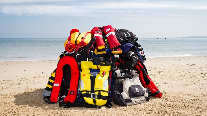 Right PFD Size