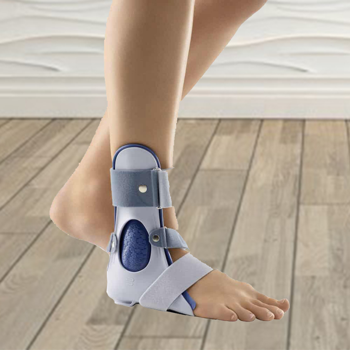 rigid ankle brace support