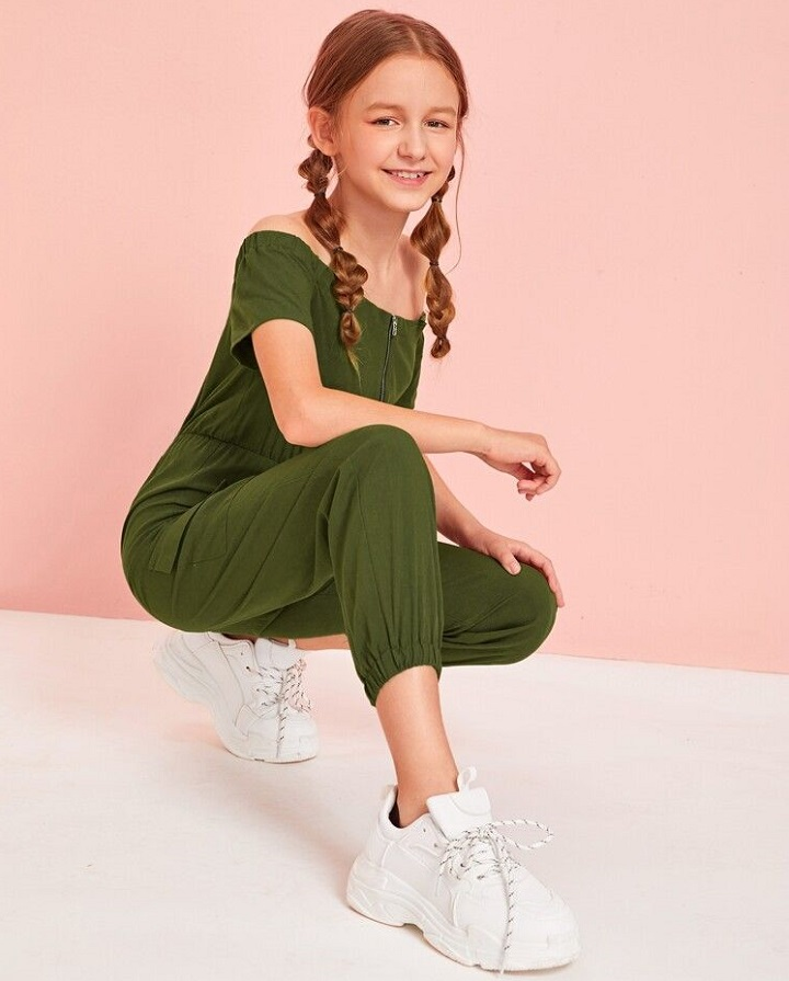 Teenage girl jumpsuit