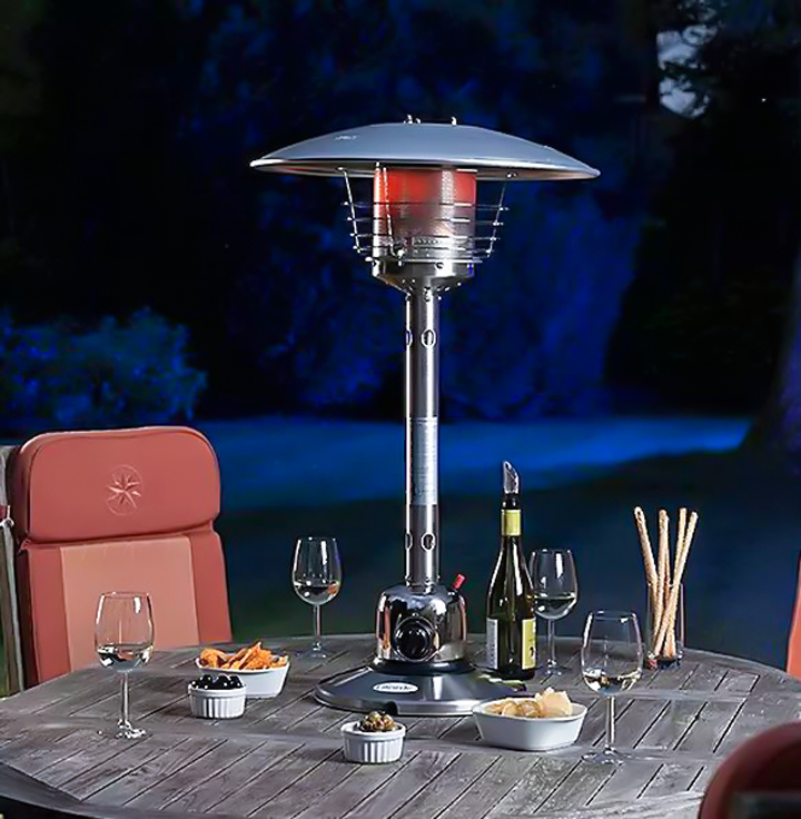 table top heater