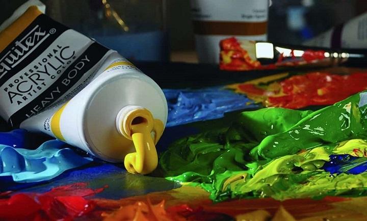 artist acrylic colour