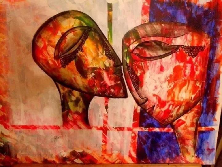 watercolour vs acrylic paints