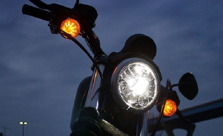 Alloy motorcycle lights