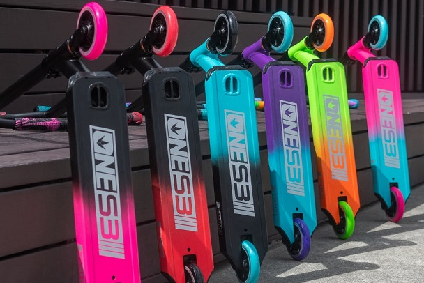 envy one complete pro scooters