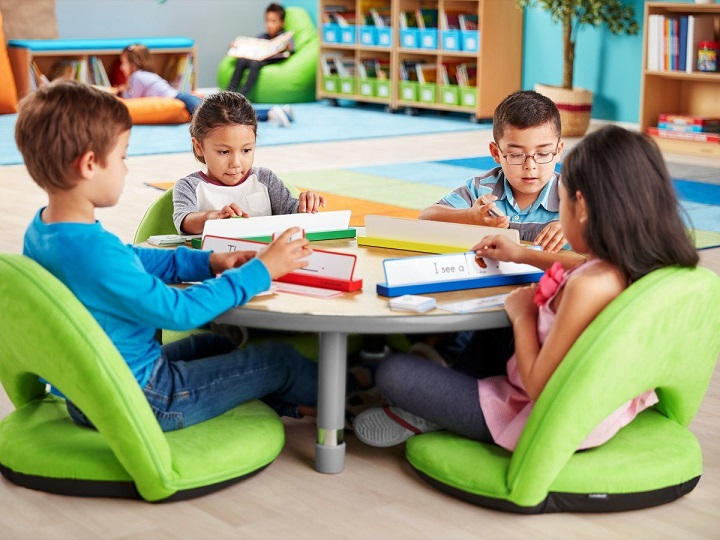 flexible seating in classroom