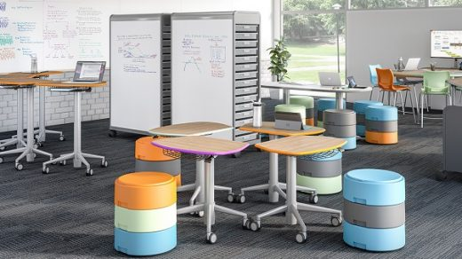 flexible furniture for classroom